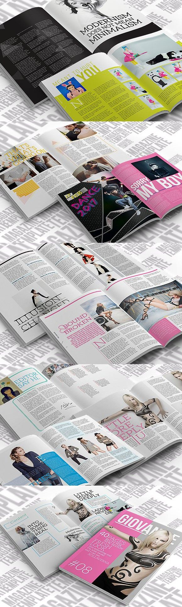 Best 25 indesign magazine templates ideas on pinterest magazine indesign magazine template pronofoot35fo Gallery