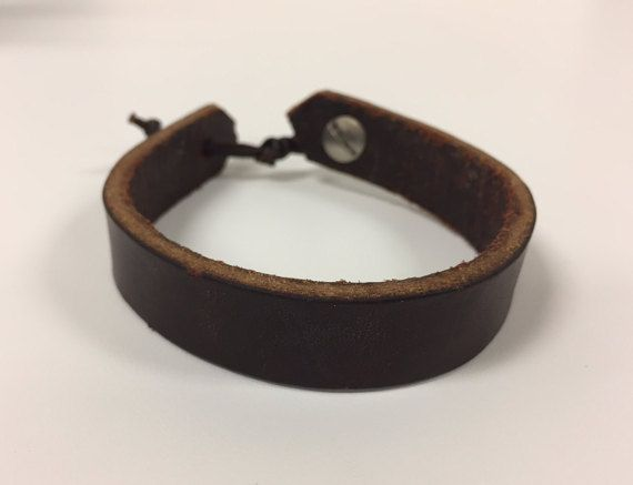 Leather Bracelet, Recycled Horse Tack, Equestrian Horse Shop
