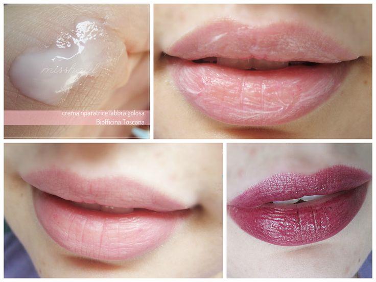 [Biofficina Toscana] Crema riparatrice e scrub labbra ~ Misshaul | ecobio & lipsticks addicted