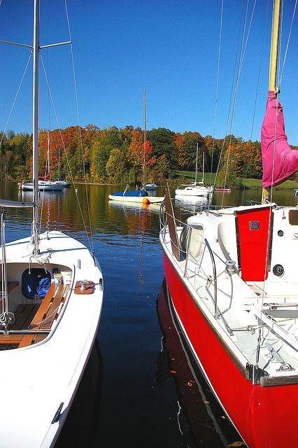 marina at Centennial Park, Mactaquac, New Brunswick