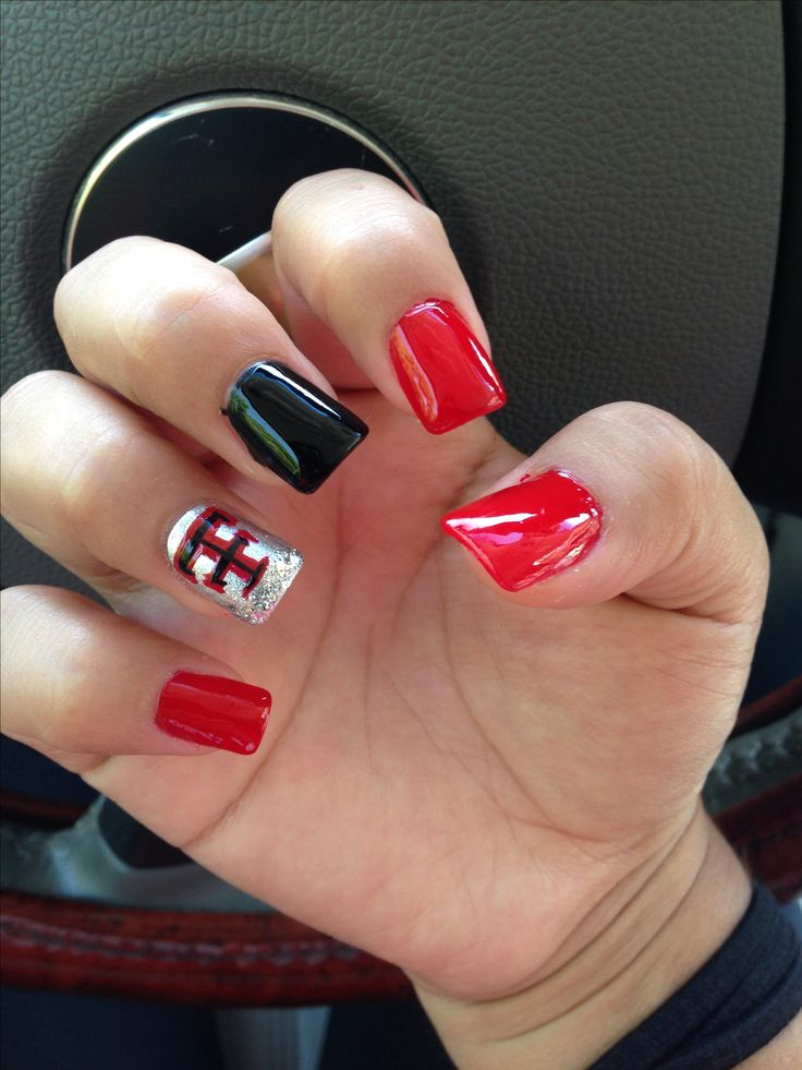 Texas Tech Nails- ill prob do this before the OU game!!