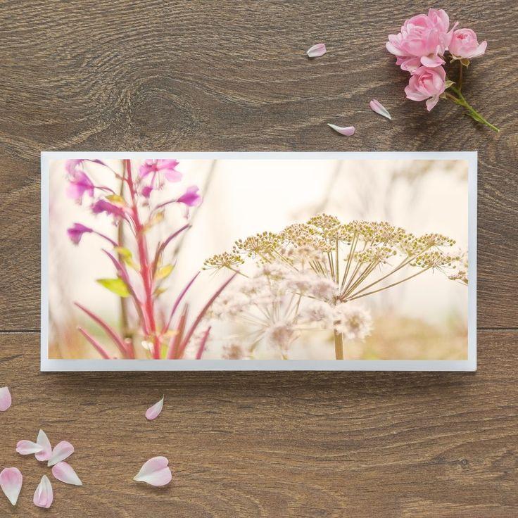 Single Blank Card by landscape photographer Nina K Claridge - Cow Parsley