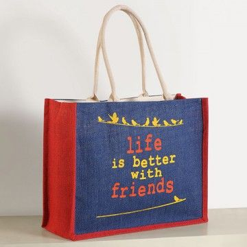 Jute Shopping Bag- JCB01-610
