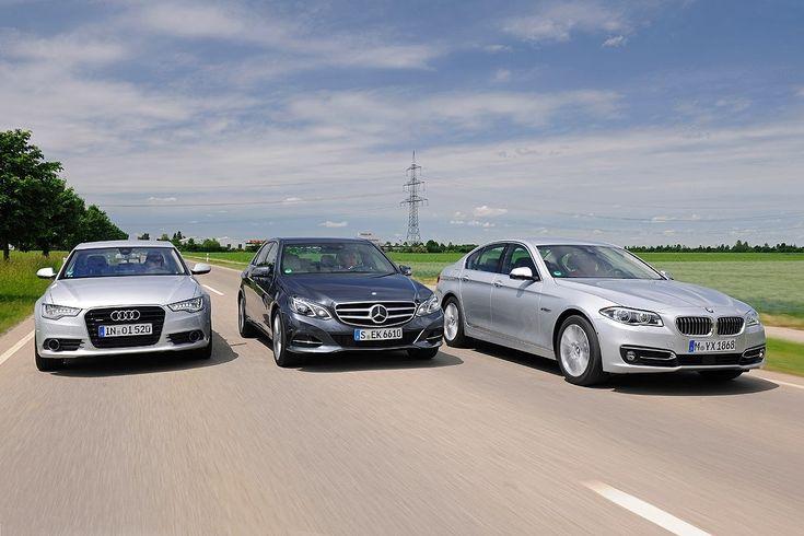 BMW 535d vs. Audi A6 TDI and Mercedes-Benz E250 BlueTec - http://www.bmwblog.com/2014/07/24/bmw-535d-vs-audi-a6-tdi-mercedes-benz-e250-bluetec/