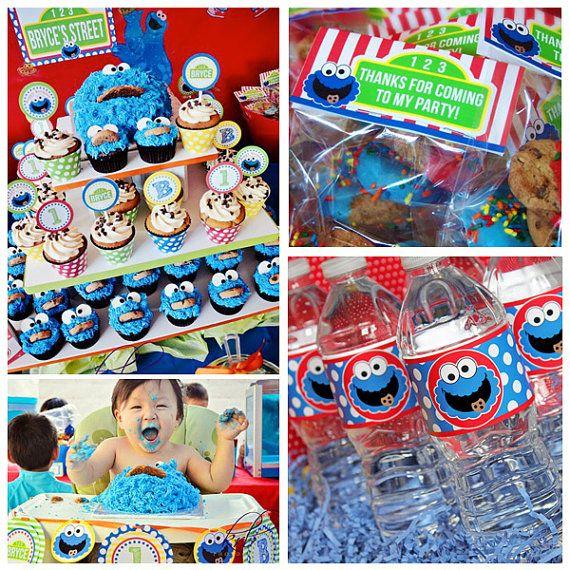 Cookie Monster Party DIY Printable Complete by AmandasPartiesToGo, $29.00