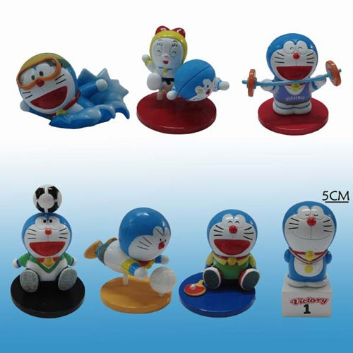 Doraemon figurines