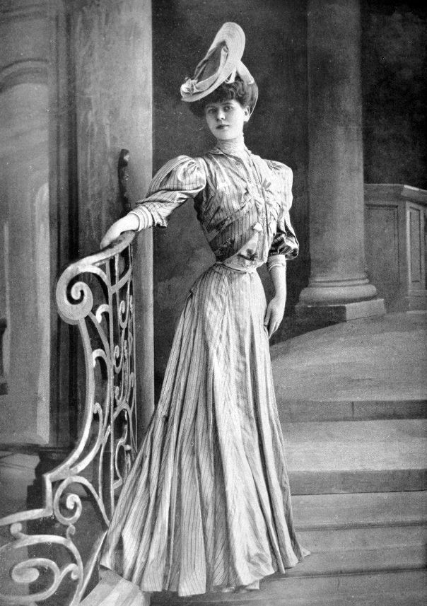 French Fashions from 1905-06, via susannaives in 2019 ...