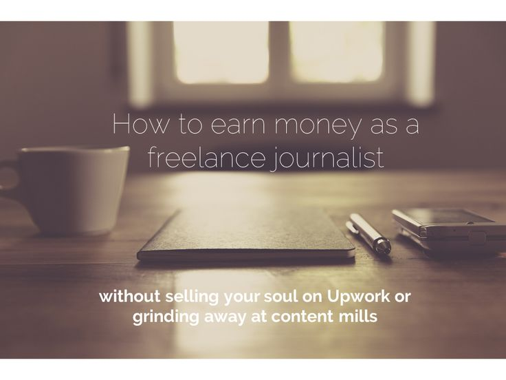 8 ways you can earn a living as a freelance journalist without joining the race to the bottom.