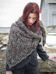 Knit - Tipperary Shawl Knit Pattern - #RAK0617
