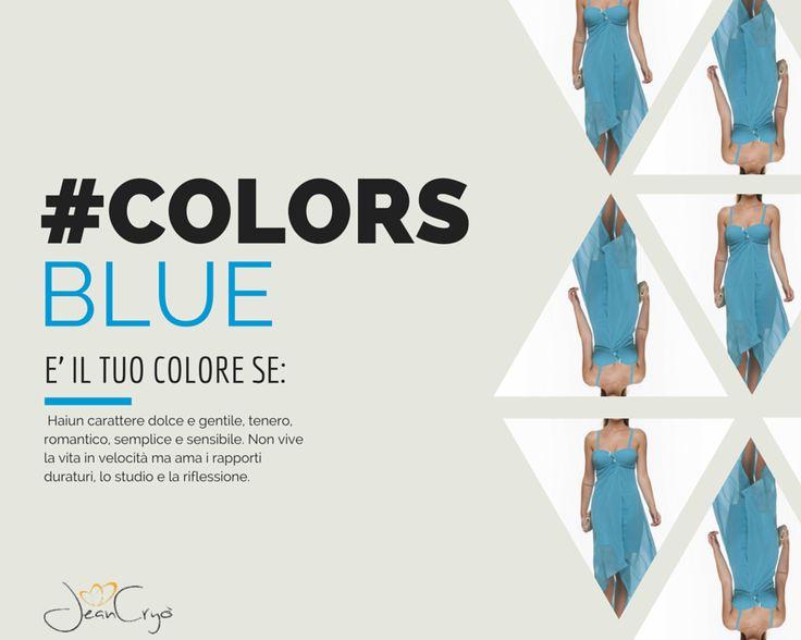 #Colors... ad ogni #personalità il suo #colore #blue #azzurro #moda #trend #style #myStile #yourFavourite #look