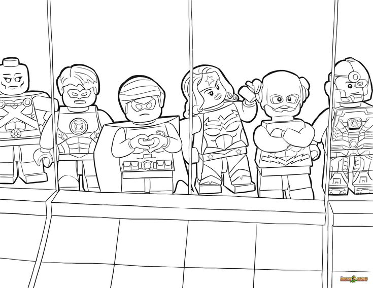 css3 lego coloring pages - photo#14