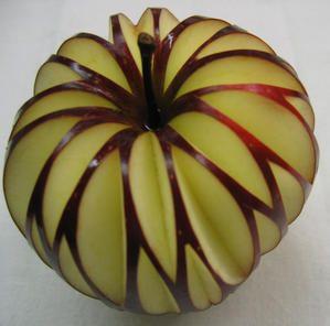 sculpture sur fruits - Recherche Google