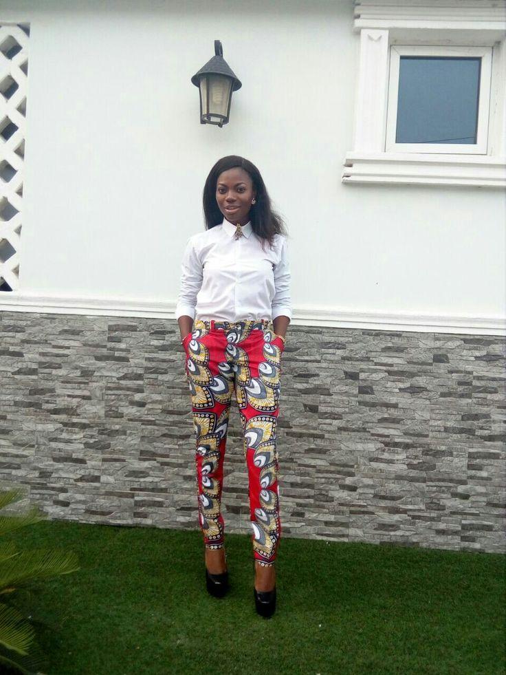 Ankara pants, casual pants, corporate pants,african pants,african fashion,nigerian fashion