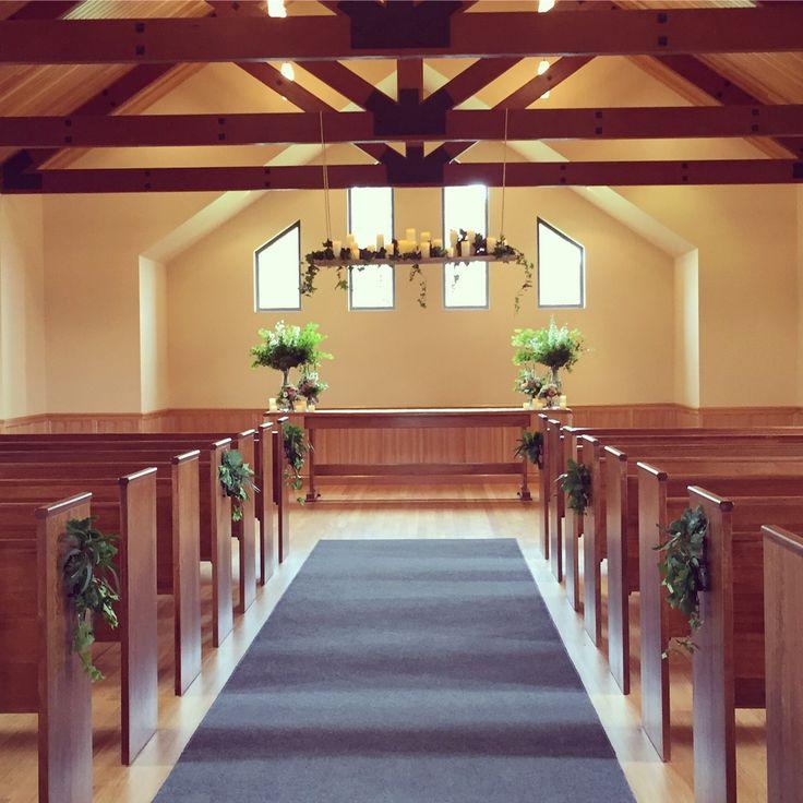 Chapel wedding #vueonhalcyon #daynetyler #yarravalley #wedding