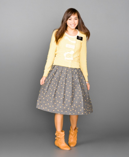 cute missionary outfit, love the boots