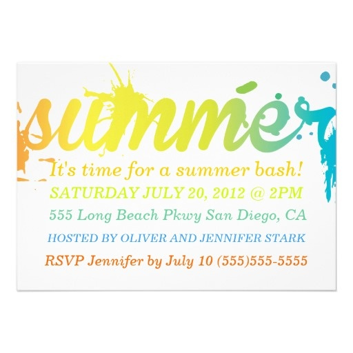 awesome summer party invitation wording for 56 summer office party invitation wording