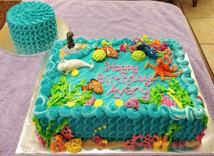 The 25 best Dory birthday cake ideas on Pinterest Dory cake