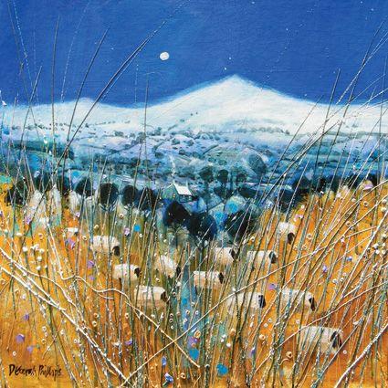 'Winter Grazing' by Deborah Phillips
