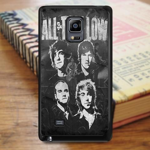All Time Low Music Band Lyric Samsung Galaxy Note 3 Case