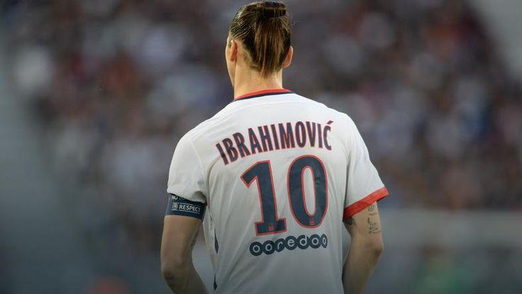 Zlatan Ibrahimovic odejdzie po sezonie z Paris Saint-Germain