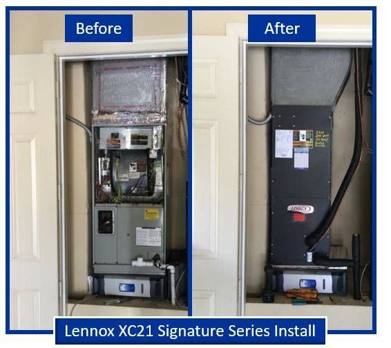 The Great Thing About Having Us Install A New Lennox Home Comfort