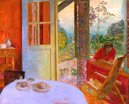 Pierre Bonnard Salle à manger à la campagne, 1913 (Huile sur toile)