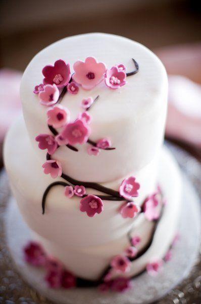 Cherry-Blossom #WeddingCake I Let Them Eat Cake, Inc I http://www.weddingwire.com/biz/let-them-eat-cake-inc-phoenix/portfolio/53c069afc006436d.html?page=2&subtab=album&albumId=2b01747f3f911cef#vendor-storefront-content