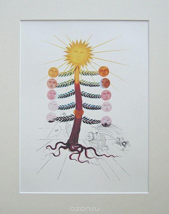 Сальвадор Дали. Кувшинка, 1979. Цветная литография. Серия FlorDali | 13 500 р.