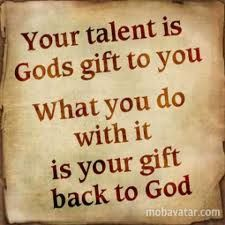 Spiritual Gifts/Talents and nowing when to use them to serve others in the name of Jesus