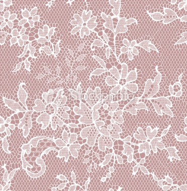 White Lace Seamless pattern Royalty Free Stock Vector Art Illustration