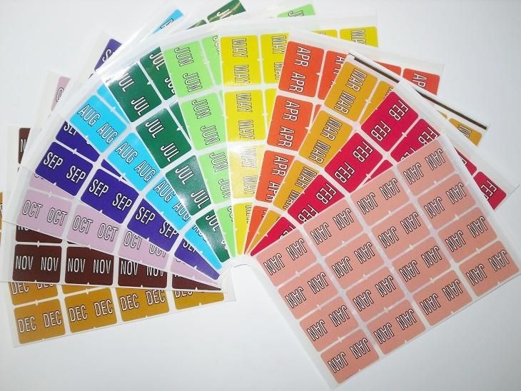 Need a filing solution to organise your folders by month? Try using a Month Label Starter Kit - contains 2 sheets (32 individual labels) of each month (Jan-Dec) to suit lateral colour coded (side tab or end tab) folders. Label dimensions are 31.5mm W x 24mm H. Total of 324 labels.