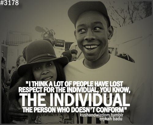 Tyler The Creator Quotes - Google Search