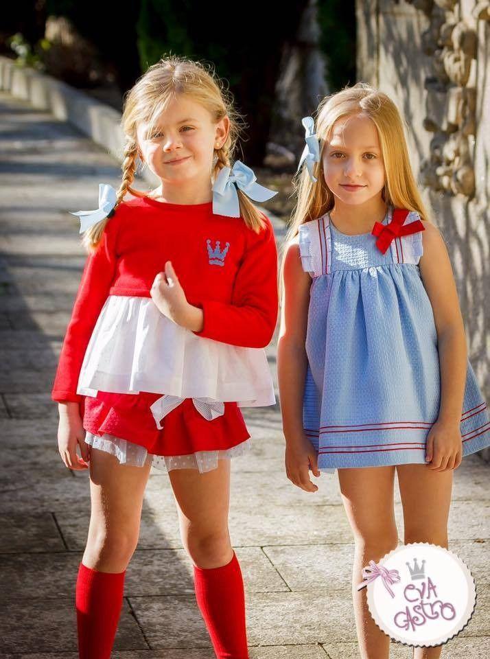 7b4ce6ad5 Conjunto niña 2 piezas compuesto por camisa y bombacho de la colección  Ariana Eva CastroTemporada primavera