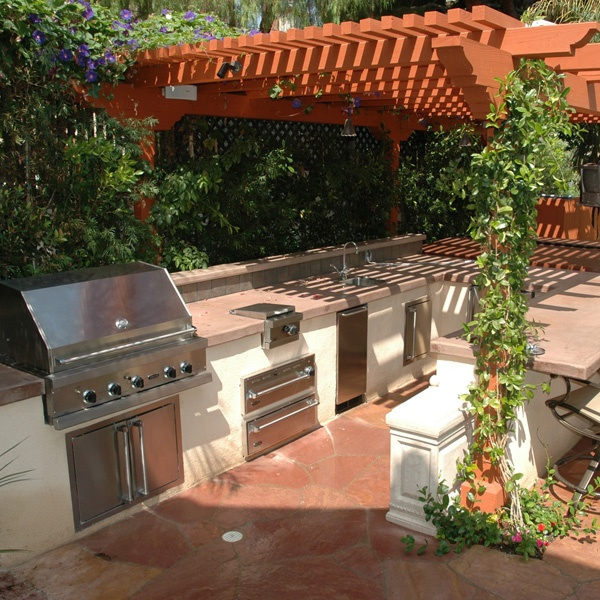 88 best images about Outdoor kitchens on Pinterest | Modern ...