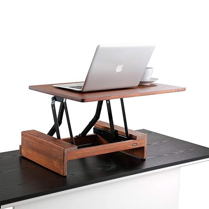 Amazon Com Comix Standing Desk Height Adjustable Desk Converter