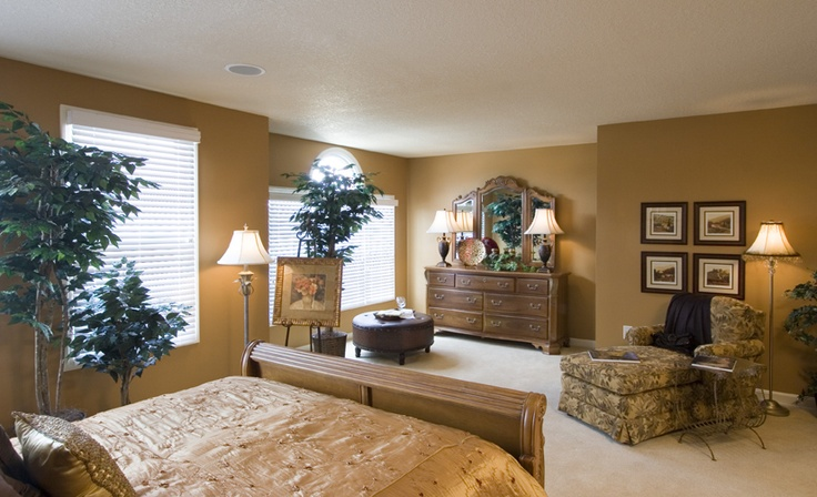 master bedroom suite with sitting area for the home