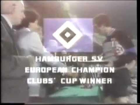 Finale Europapokal Landesmeister 1983: HSV - Juventus Turin 1:0
