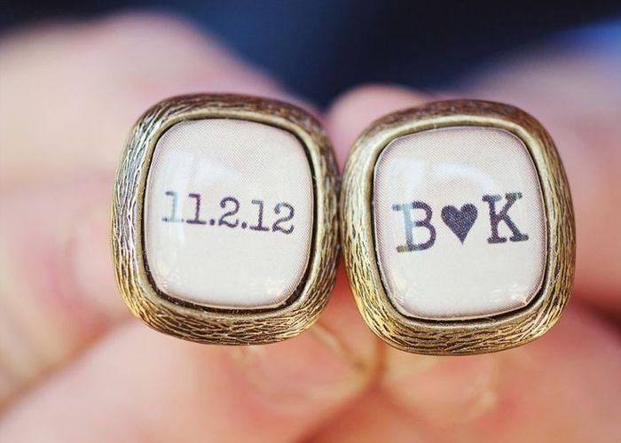 タキシードの小物で花嫁への愛を伝える♡新郎ファッションを完成させるとっておき「カフスボタン」まとめ*のトップ画像