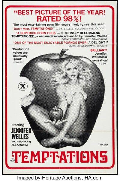 Temptations - 1976 (Jennifer Welles, Marlene Willoughby, Vanessa del Rio & Gloria Leonard)