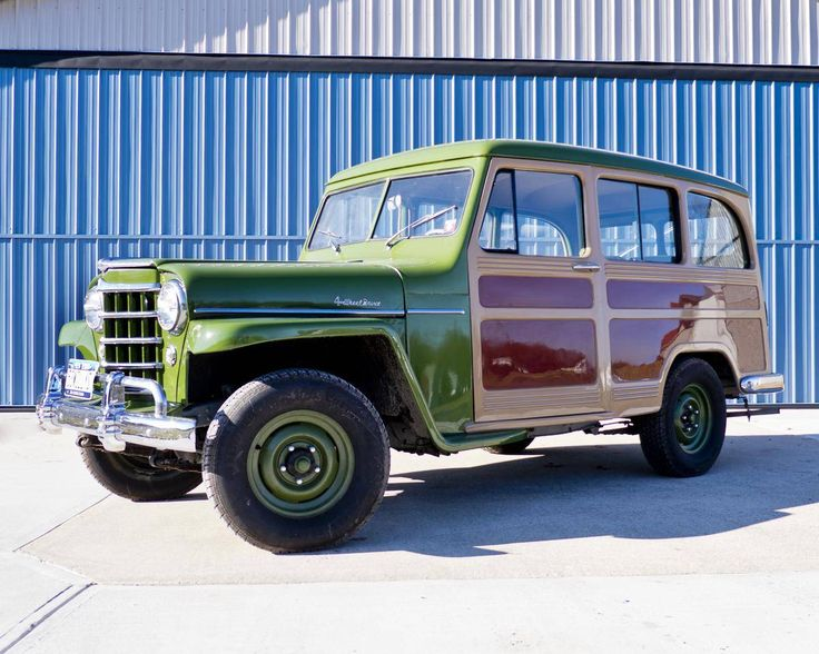 1953 Willys Utility Wagon