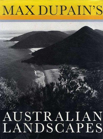 マックス・デュペイン写真集 Max Dupain's Australian Landscapes Max Dupain 1988年/Viking 英語版 カバー ¥2,620