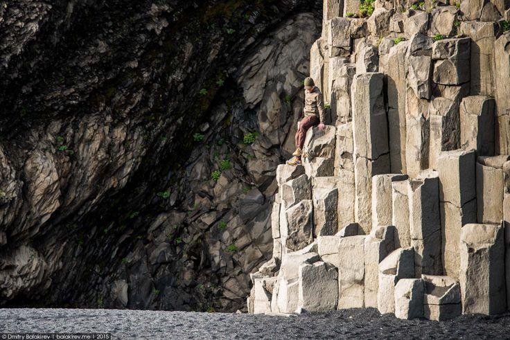 Скалы на пляже Рейнисфьяра исландия, красивые места, путешествие