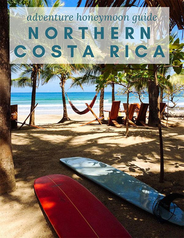 Adventure honeymoon guide to Northern Costa Rica by Kristen M. Brown, Samba to the Sea Photography.