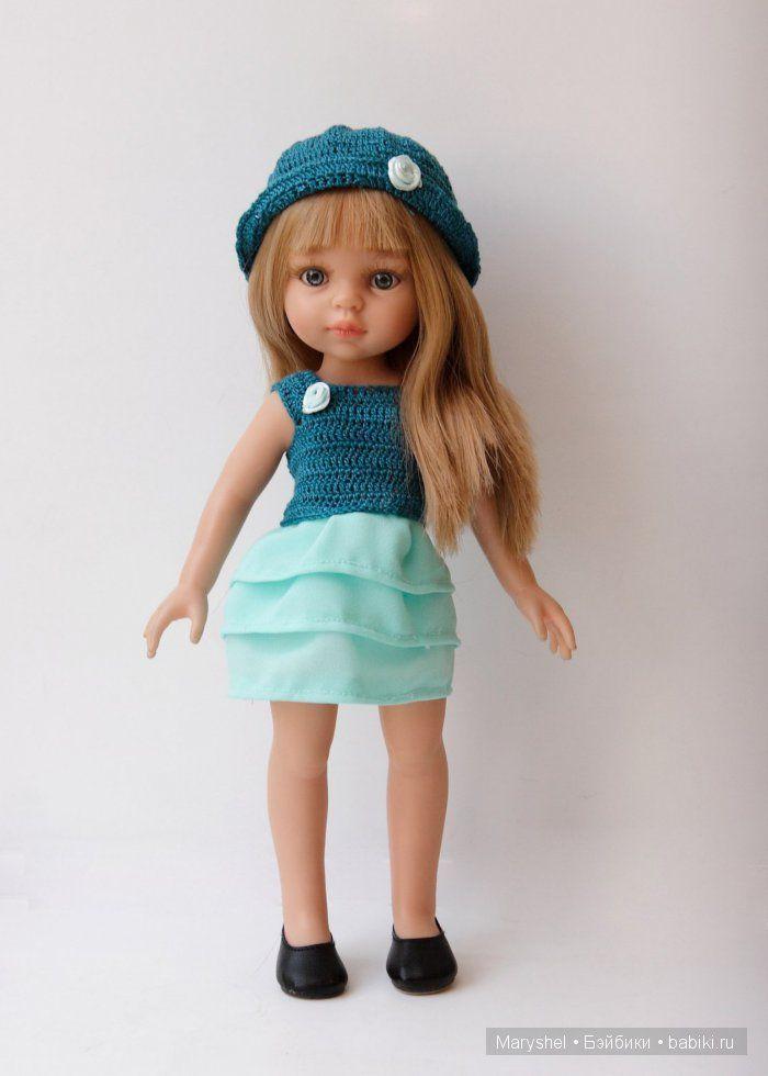 Летние образы для Лиу и Карлы Paola Reina / Одежда и обувь для кукол - своими руками и не только / Бэйбики. Куклы фото. Одежда для кукол
