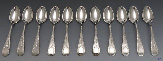 "BALTIMORE ROSE Schofield STERLING Silver Spoon Teaspoon Decor 6 1//8/"""