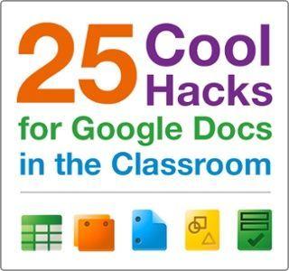 25 Cool Hacks for Google Docs