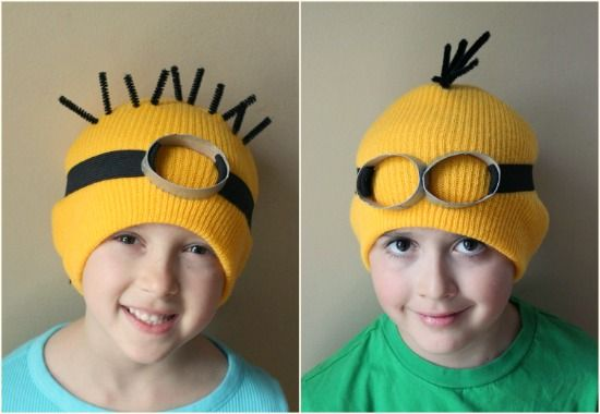 Minion Halloween Costume | Homemade Halloween Costume of Dancing Circus Afro Zebra | Tween Craft ...