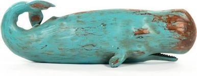Sculpture Statue Sperm Whale Polyresin New ZT-1709