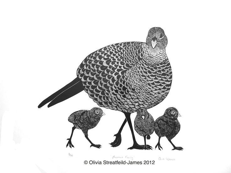 Pheasant Family - Olivia Streatfeild-James