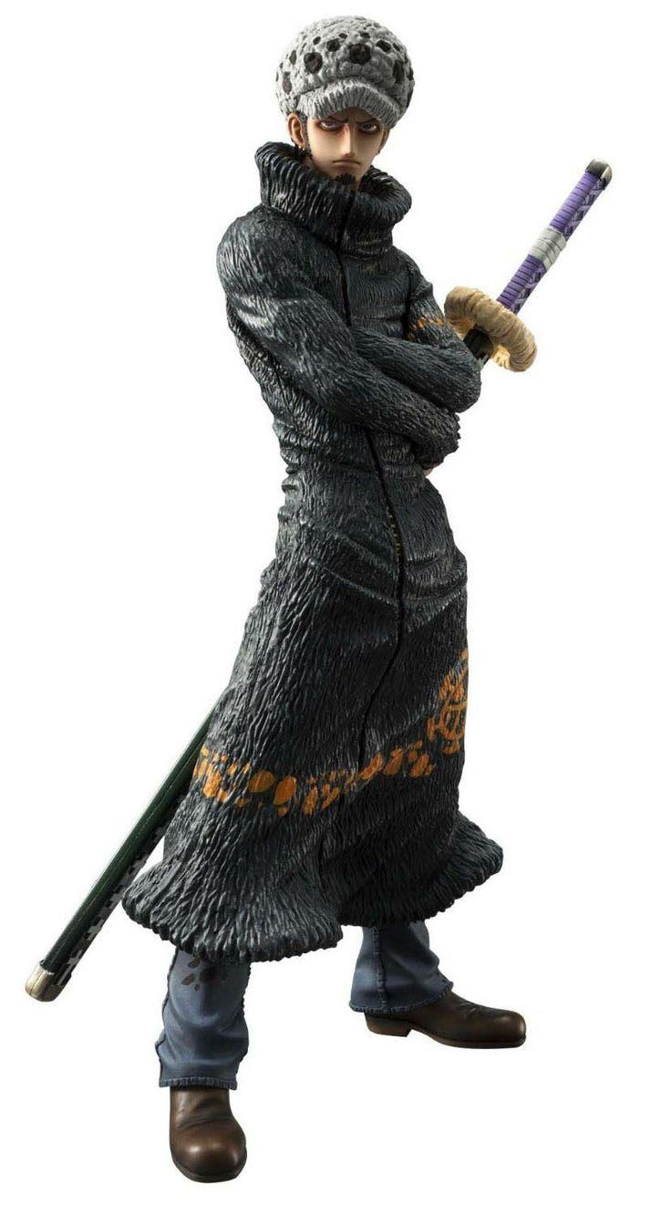 Figura Trafalgar Law 23.5 cm. Línea model P.O.P. One Piece. Megahouse Espectacular figura articulada de Trafalgar Law de 23.5 cm de altura a escala 1/7 fabricada en material de PVC de la línea model P.O.P. y perteneciente al exitoso manga/anime One Piece.